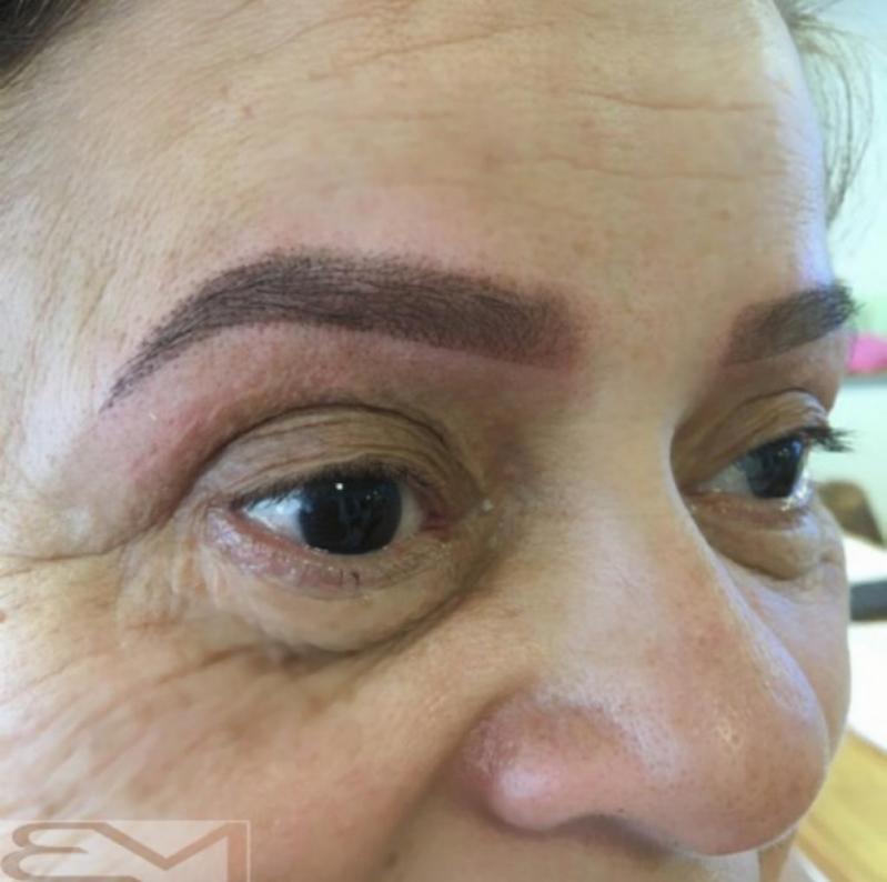 Clínica de Micropigmentação Sobrancelha Feminina Horto Florestal - Micropigmentação Sobrancelha Grossa