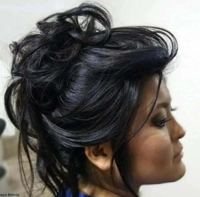 Penteados para Madrinha de Casamento Sítio do Mandaqui - Penteados de Casamento para Noiva