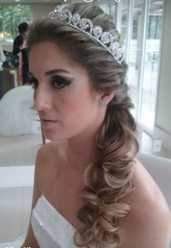 Salão para Penteados de Casamento para Noiva Sítio Pedra Branca - Penteados de Casamento para Noiva
