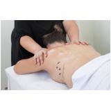 clínica para massagem relaxante muscular Vila Bariri