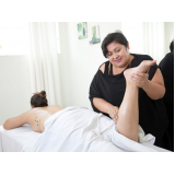 clínica para massagem relaxante nas pernas Vila Zélia