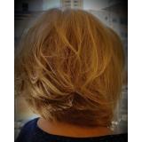 corte de cabelo curto agendar Vila Isolina Mazzei
