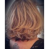 corte de cabelo curto feminino agendamento Jardim Sítio do Morro