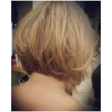 corte de cabelo curto Vila Munhoz
