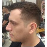 corte de cabelo masculino curto agendamento Conjunto Residencial Santo Antônio
