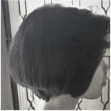 corte de cabelo para rosto redondo Vila Solear