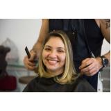 luzes no cabelo curto marcar Vila Santos