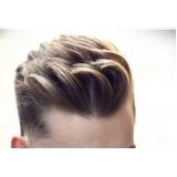 luzes no cabelo masculino marcar Vila Brasil