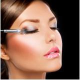 maquiagem para casamento de dia agendar Vila Basileia