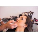 maquiagem para madrinha de casamento agendamento Jardim Maria Nazaré