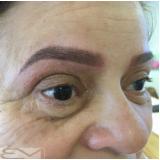 micropigmentação de sobrancelha esfumada Vila Esmeralda