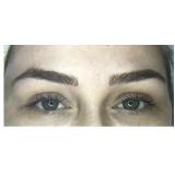 sobrancelha de micropigmentação