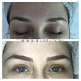 micropigmentação sobrancelha feminina Vila Constança