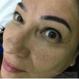 micropigmentações de sobrancelha em homens Vila Pizzotti