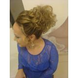 onde fazer penteados para cabelos cacheados para casamento Jardim Maria Nazaré