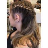 penteados para casamento madrinhas marcar Vila Celeste