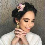 penteados para casamento marcar Jardim Martins Silva