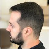 salão para corte de cabelo masculino curto Vila Cristo Rei