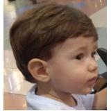 salão para corte de cabelo masculino infantil Vila Nelson